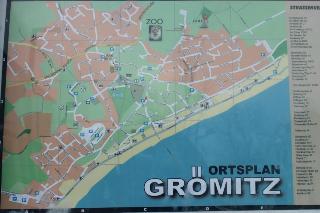 Ortsplan Grömitz